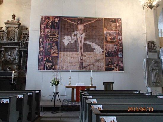 Stadtkirche: altar