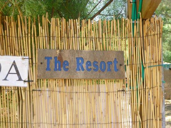 The Resort Hostel: Entrance