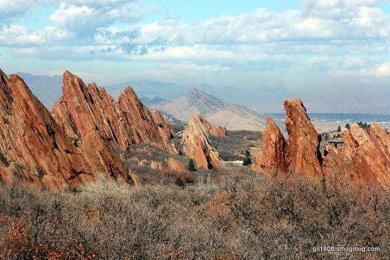 Roxborough State Park: what a view!