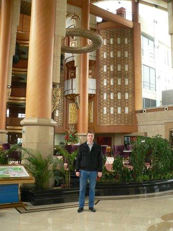 Yufu Hot Springs Hotel : Холл отеля