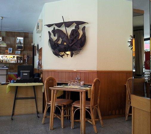 Restaurante El Sol: Detalle interior