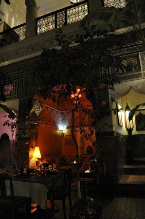 Riad Jenaï : Petit salon intiime