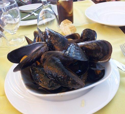 Restaurante El Sol: Mejillones a la Marinera