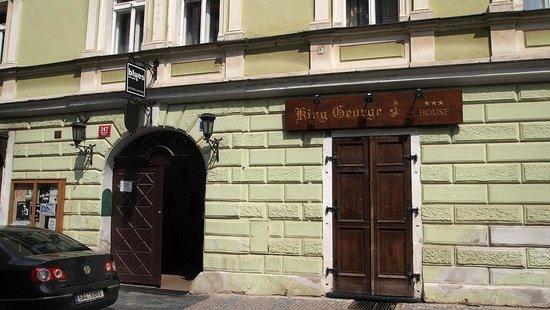 Hotel King George : Straßenansicht