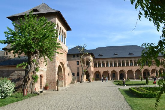 Palacio de Mogosoai: Interior court