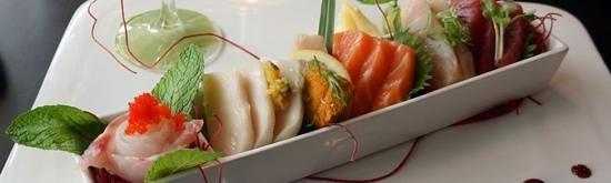 Yuki Hana Japanese Fusion: Assorted sashimi.