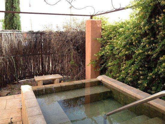 Sierra Grande Lodge & Spa : Outdoor tub