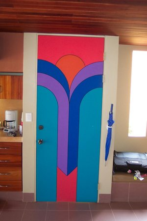 Alma del Pacifico Beach Hotel & Spa: Door in the room