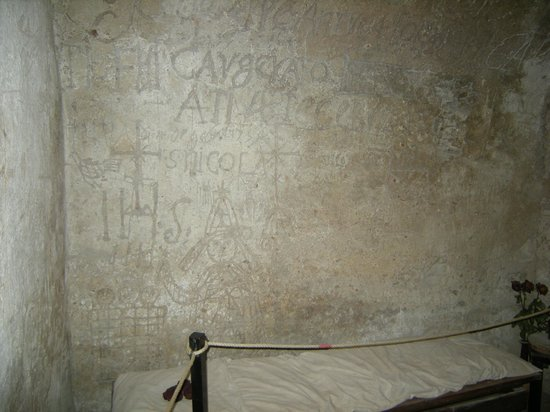 Narni Sotterranea: La cella dei detenuti
