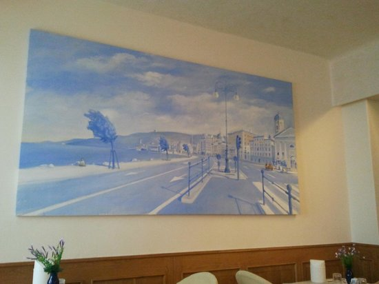 Hotel Abbazia: I like this picture very much on wall in dining area
