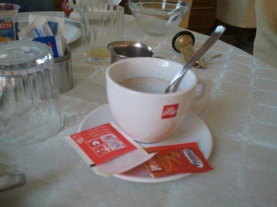 Hotel Abbazia: Very good coffee