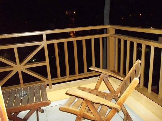 Caribe Club Princess Beach Resort & Spa: downstairs balcony