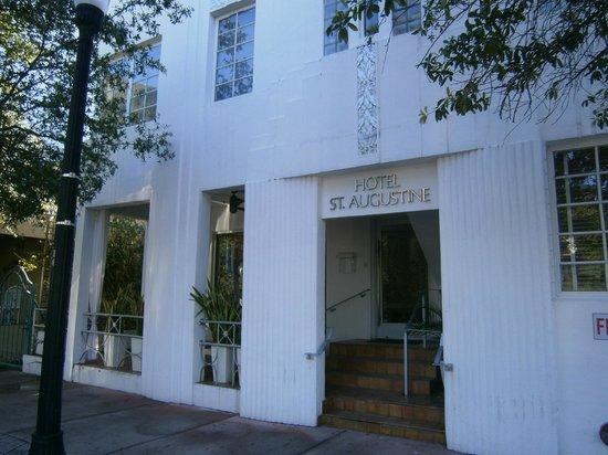 Hotel St. Augustine: Eingangsbereich