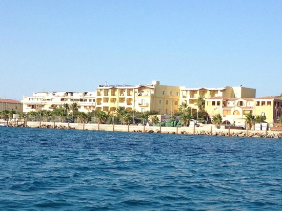 Villa Margherita Hotel : View of the hotel from the water