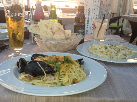 Villa Margherita Hotel : So many good restaurants. Gentedimare was our favorite.