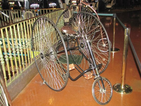 Silver Legacy Resort Casino: Historic Bicycle (several on display