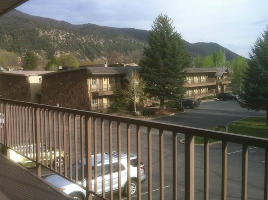 Best Western Antlers: View from our Room