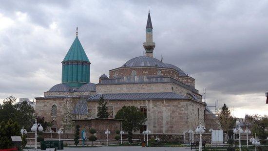 Meram Park Hotel : Mevlana mausoleum in Konya