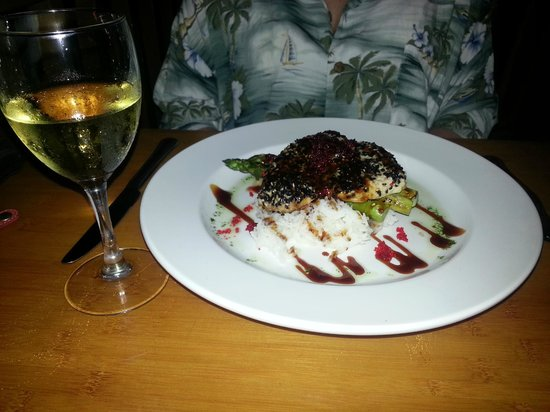 The Bistro: Shutome crusted in panko and black sesame