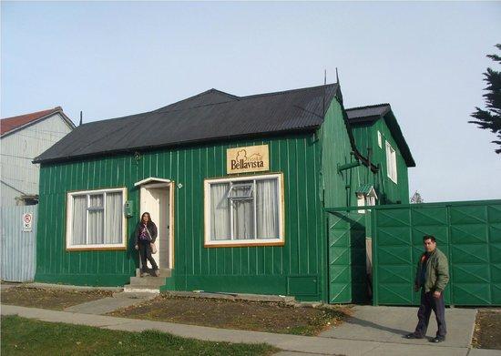 Hostal Bellavista Patagonia: Frente del hostal