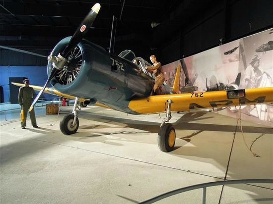 Southern Museum of Flight: WWII trainer