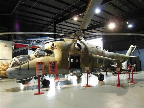 Southern Museum of Flight: Russian Hind Helicopter