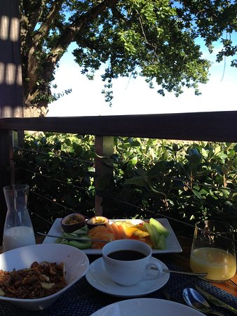 Delaire Graff Estate - Lodges and Spa: Breakfast for one first course