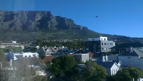 SunSquare Cape Town: view from the window of Table Mountain