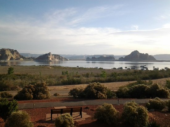 Lake Powell Resort: View from our balcony