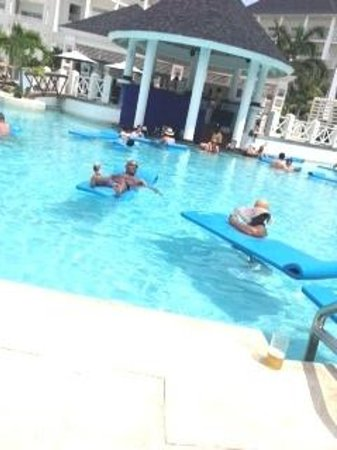 Secrets St. James Montego Bay: Pool...we spend lots of time there! lol
