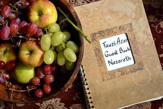 The Fauzi Azar Inn: Fresh fruit!