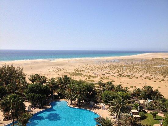 Melia Gorriones Fuerteventura: Vista dalla stanza... Stupenda!!