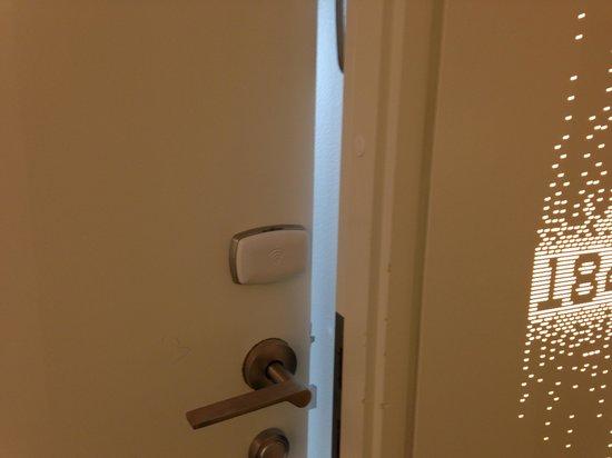 AC Hotel by Marriott Bella Sky Copenhagen: Automated keylock