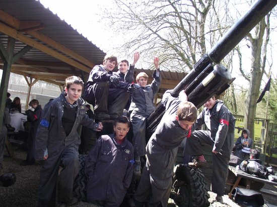 Delta Force Paintball: Delta Force, Hinton Airfield, Brackley