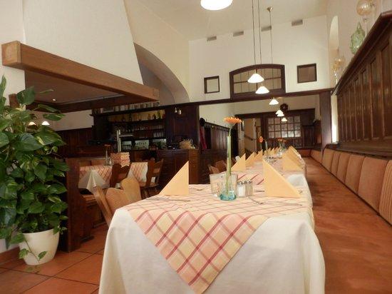 Goldenes Lamm: Inteior del restaurante