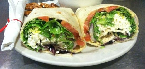 Panacea Coffeehouse Cafe & Roastery : Zeus Caboose Wrap