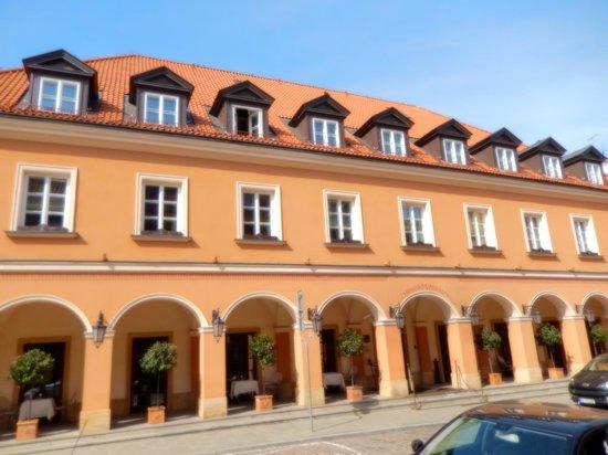 Mamaison Hotel Le Regina Warsaw: Front