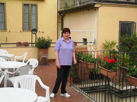 Hotel Monica: Terrazzino colazione esterna