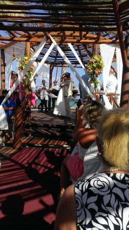 Grand Sunset Princess All Suites Resort Riviera Gazebo Wedding Ceremony