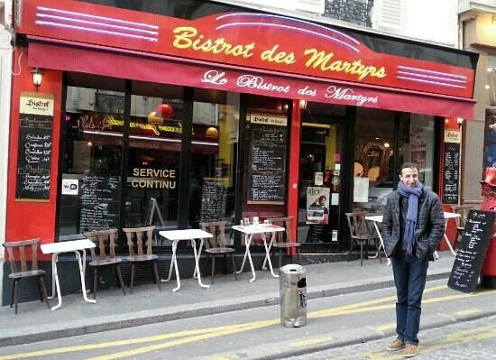 le bistrot des martyrs paris montmartre restaurant