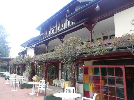 Hotel de la Verniaz et ses Chalets : The old building