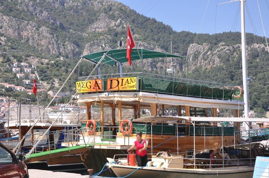 Mega Diana Boat Trip-Tours (Marmaris, Tyrkiet) - anmeldelser
