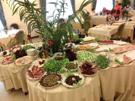 Hotel Valentini: buffet