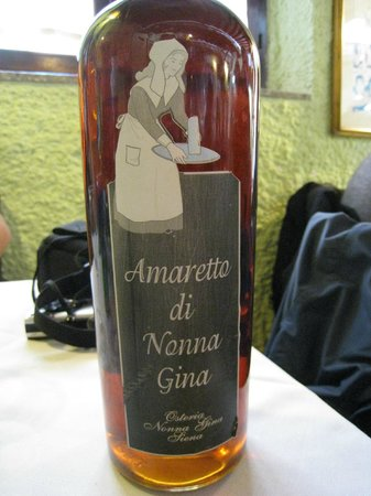 "Osteria Nonna Gina: The Amaretto ""of the house"""