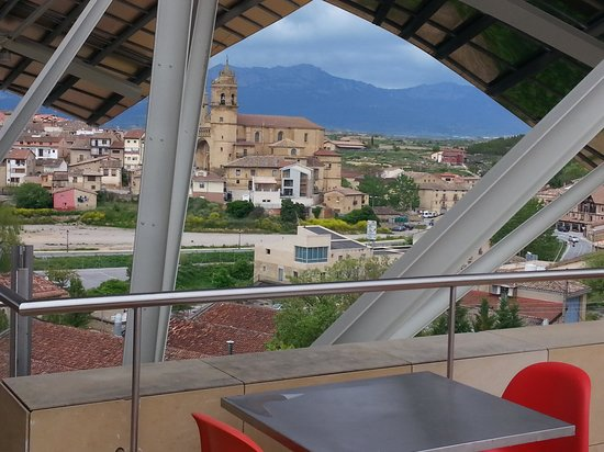 Elciego, Spanien: from the restaurant