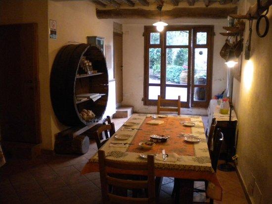 Agriturismo La Torretta : La sala della colazione
