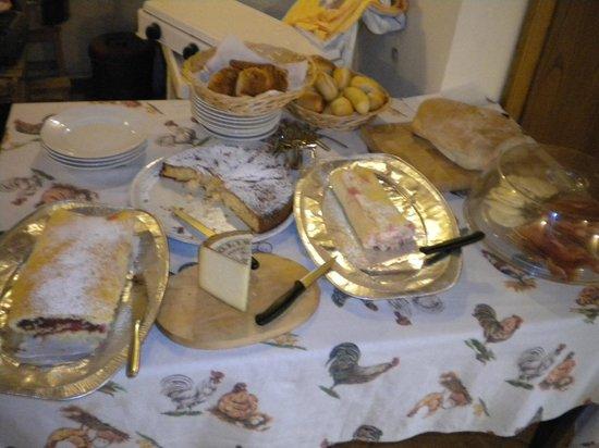 Agriturismo La Torretta : Il tavolo della colazione