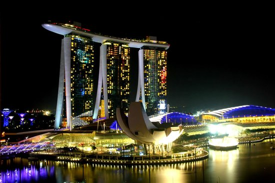 Mandarin Oriental, Singapore: View from room 1506