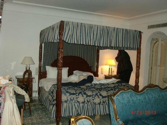 Hotel La Maison-Blanche : Sleeping area