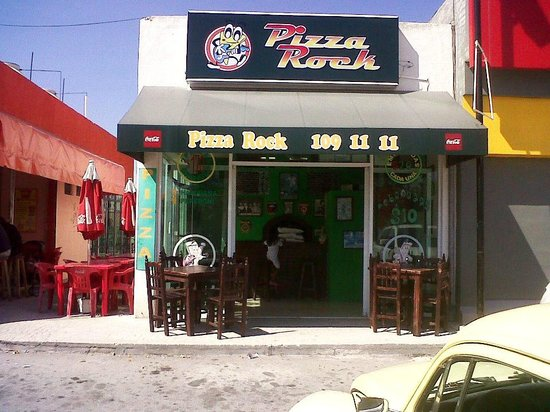 Pizza Rock: A todo Playa del Carmen, TEL.(984) 109 11 11
